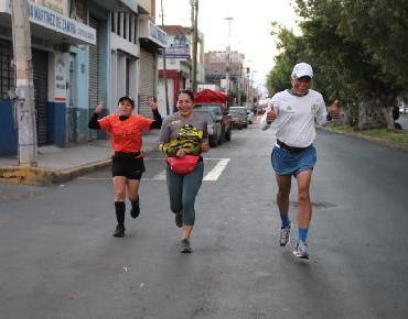"Zamoranos participan en ""Maratón Virtual"" regiomontano"