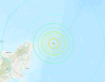 Tres terremotos de 8.1, 7.4 y 7.3 cerca de Nueva Zelanda