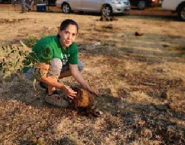 Tabajaremos para que Jacona sea Verde, limpio y seguro: Marcedalia Reyes