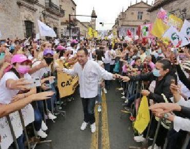 Somos el proyecto de la paz y del desarrollo para Michoacán: Carlos Herrera