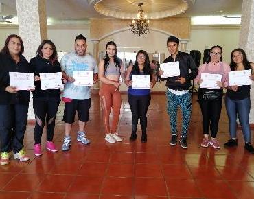 Son capacitadas 20 mujeres deportistas en Zamora