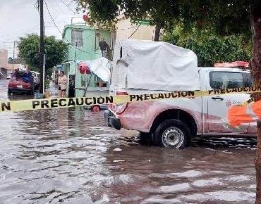 PC y Bomberos de Zamora atienden encharcamientos por lluvias