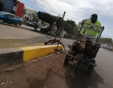 Trabajamos con ahínco en la rehabilitación de espacios públicos: Martín Samaguey