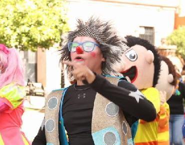 Realizan 3er. Festival del payaso en Zamora