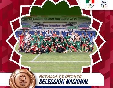 México vence a Japón 3 a 1 - gana el Bronce