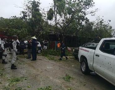 Huracán 'Grace' llega con lluvias torrenciales a la península de Yucatán