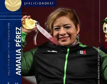 Oro para México con Amalia Perez en Tokio 2020