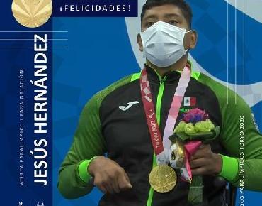 Oro para México en ParaNatación con Jesús Hernández en Tokio 2020