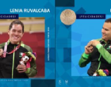 Dos bronces más para México en los Paralímpicos de Tokio 2020