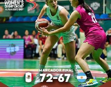 Bronce para México en el campeonato FIBA Americas Women´s Guanajuato 2021