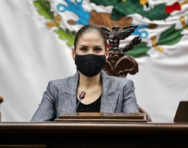 Accion Nacional defendió a michoacanos en Ley Orgánica del Estafo: Ivonne Pantoja