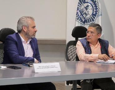 Ordena Alfredo Ramírez Mesa de Seguridad en Oriente michoacano