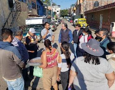 Introducen rede de drenaje y agua potable en El Crucero de San Juan