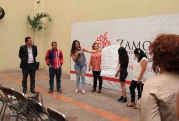 Funcionarios zamoranos reciben capacitación en Derechos Humanos