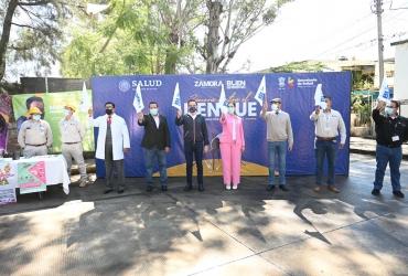 "Inició campaña ""Zamora contra el dengue"""