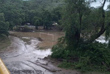 Afectaciones en Michoacán por Huracán Nora