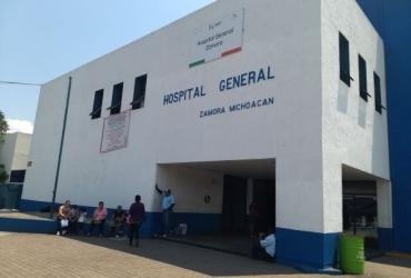 Saturadas las camas Covid en Hospital General de Zamora