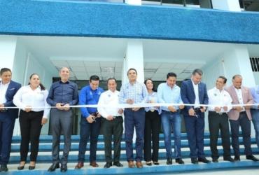 Inaugura Gobernador Centro de Cómputo y el Laboratorio de Arquitectura del Instituto Tecnológico de Jiquilpan