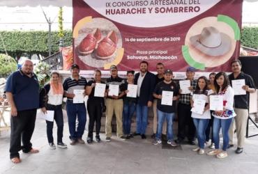 Sahuayo, Ahuiran, Nuevo San Juan y Tzirio promueven su artesanía a través de concursos artesanales
