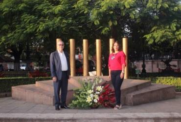 Celebran en Zamora 197  aniversario de la gesta heroica de los Niños Héroes