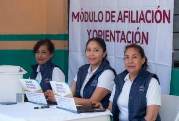 Jornada Intensiva de Afiliación al Seguro Popular en Zamora