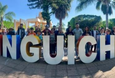 Inauguran letras gigantes de Quiringüicharo